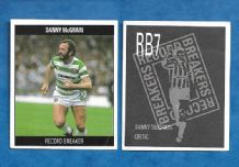 Glasgow Celtic Danny McGrain Scotland RB7